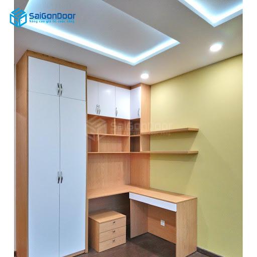 Những thiết kế tủ quần áo mới nhất tại SaiGonDoor